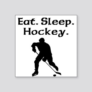 Eat Sleep Hockey Sticker