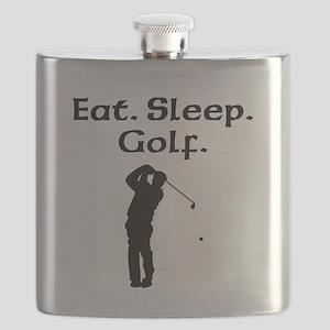 Eat Sleep Golf Flask