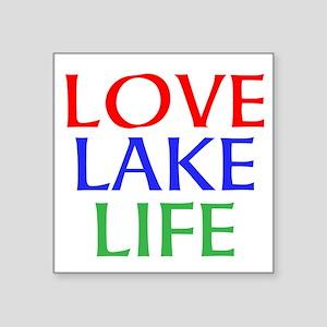 LOVE LAKE LIFE Sticker