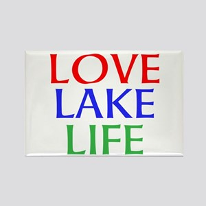 LOVE LAKE LIFE Magnets