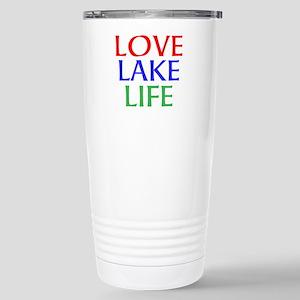 LOVE LAKE LIFE Travel Mug