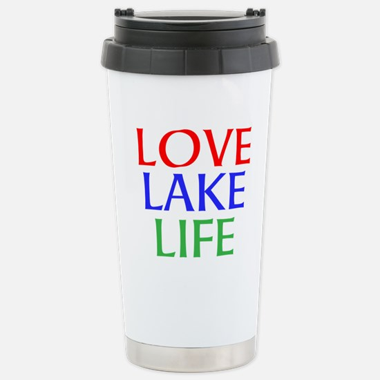 LOVE LAKE LIFE Travel Mug