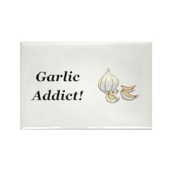 Garlic Addict Rectangle Magnet (10 pack)