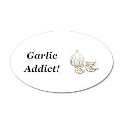 Garlic Addict Wall Decal