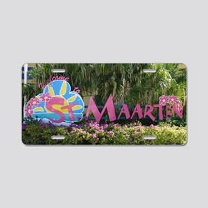 St. Maarten sign Aluminum License Plate