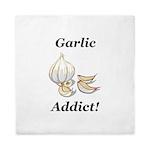 Garlic Addict Queen Duvet