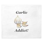 Garlic Addict King Duvet