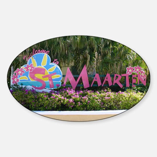 St. Maarten sign Decal