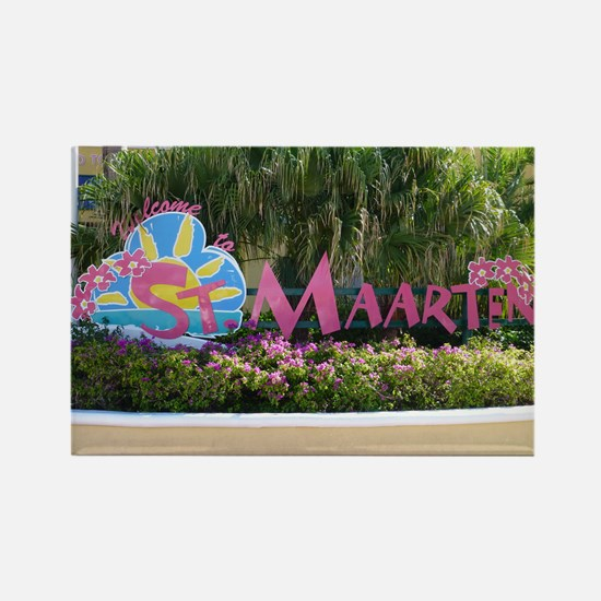 St. Maarten sign Magnets