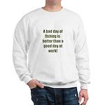 Bad Fishing day Sweatshirt