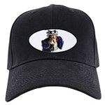 Uncle Sam Flipping The Bird Baseball Hat