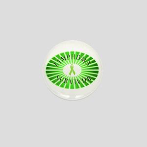 LYMPHOMA SURVIVOR Mini Button