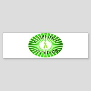 LYMPHOMA SURVIVOR Bumper Sticker