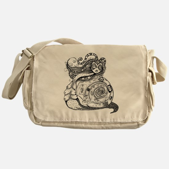 Snail Goddess Messenger Bag