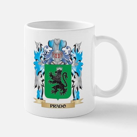 Prado Coat of Arms - Family Crest Mugs