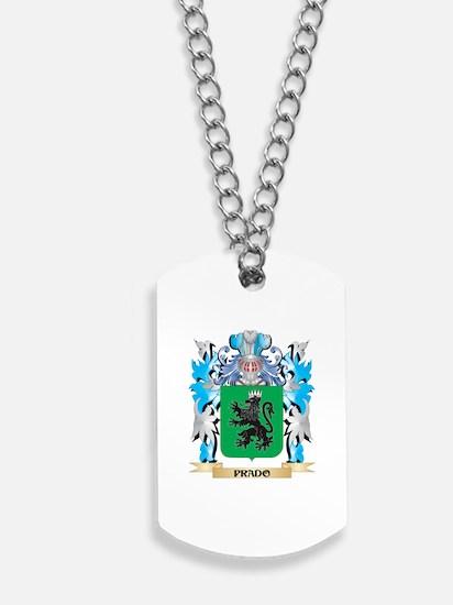 Prado Coat of Arms - Family Crest Dog Tags