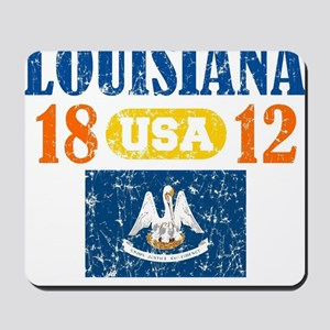 "LOUISIANA / USA 1812 STATEHOOD ""PERFECT  Mousepad"