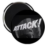 "ATTACK! 2.25"" Magnet (10 pack)"