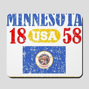 "MINNESOTA / USA 1858 STATEHOOD ""PERFECT  Mousepad"