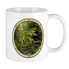 Ruby Leaf Dragon Mug