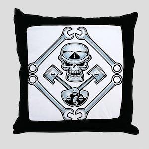 Piston Pistoff Throw Pillow
