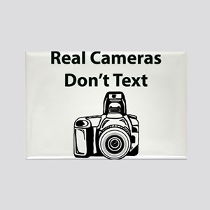 Real Cameras Don't Text Magnets