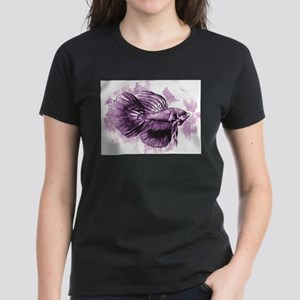 Purple Betta Fish T-Shirt