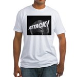 ATTACK! Fitted T-Shirt