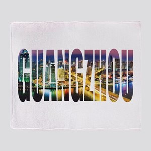 Guangzhou Throw Blanket