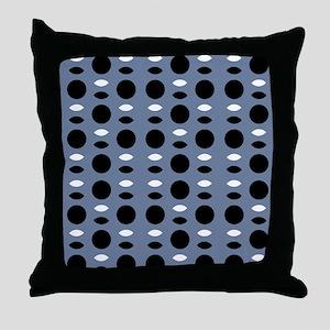 Grey Black for Jack 23 Throw Pillow
