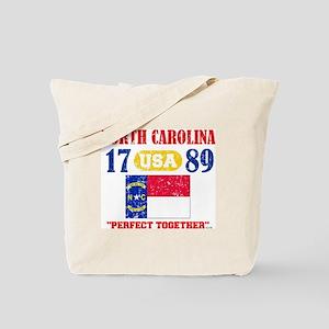 "NORTH CAROLINA USA 1789 STATEHOOD ""PERFEC Tote Bag"