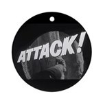 ATTACK! Ornament (Round)