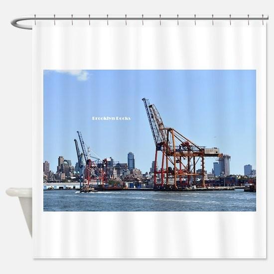 Cranes 1 Shower Curtain