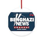 Benghazi News Channel Ornament (Round)