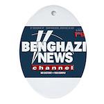 Benghazi News Channel Ornament (Oval)