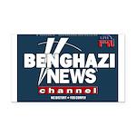 Benghazi News Channel Rectangle Car Magnet