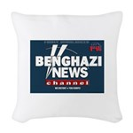 Benghazi News Channel Woven Throw Pillow