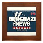 Benghazi News Channel Framed Tile