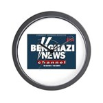 Benghazi News Channel Wall Clock
