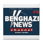 Benghazi News Channel Tile Coaster