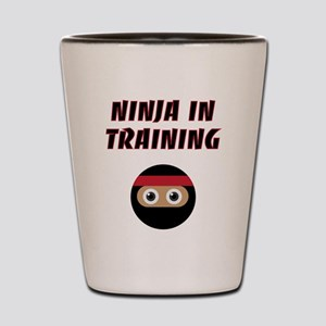 Ninja In Training Shot Glass