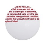 Christian Nation Quote Ornament (Round)
