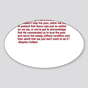 Christian Nation Quote Sticker