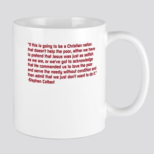 Christian Nation Quote Mugs