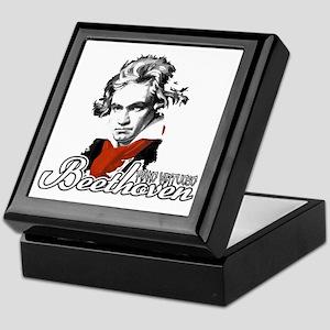 Beethoven piano virtuoso Keepsake Box