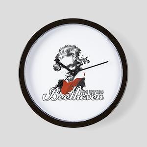Beethoven piano virtuoso Wall Clock