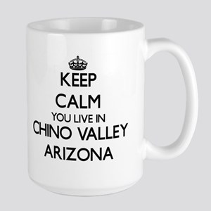 Keep calm you live in Chino Valley Arizona Mugs