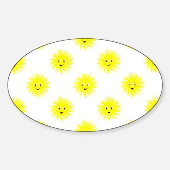 Sunshine Pattern Decal