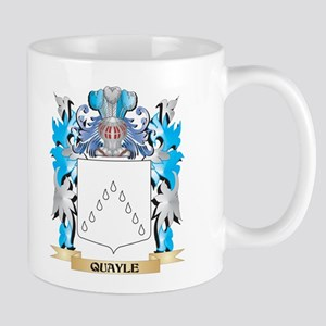 Quayle Coat of Arms - Family Crest Mugs