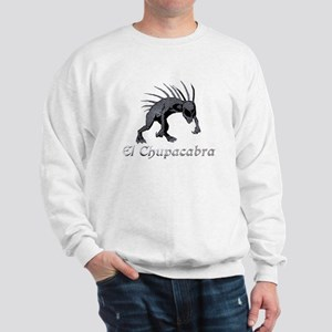 Chupacabra Grey Scales Sweatshirt